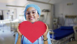 Pielęgniarka z sercem